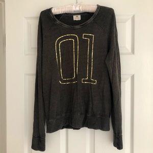 Sundry Varsity Style Super Soft Pullover